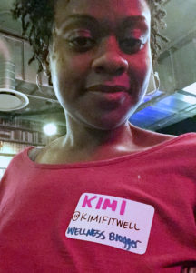 Kimi Walker KimiFitWell Black Bloggers United Event